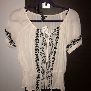 Forever 21 peasant top ( never worn)